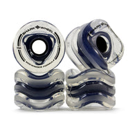 Shark Wheel - 70mm Sidewinder - Clear with Black Hub