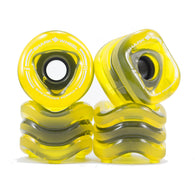 Shark Wheel - 70mm Sidewinder - Transparent Amber