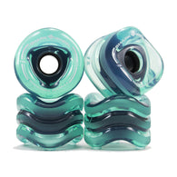 Shark Wheel - 70mm Sidewinder - Transparent Blue