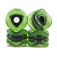 Shark Wheel - 70mm Sidewinder - Transparent Green
