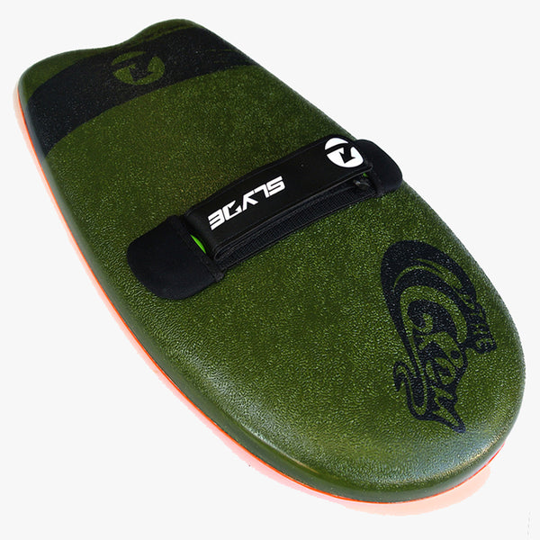 Slyde Handboards - The Grom - Army Green & Pilsner