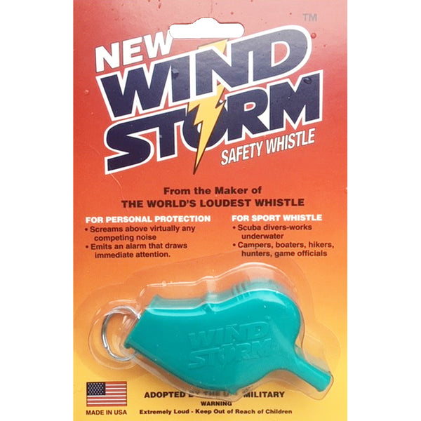 Storm Whistles - The Windstorm - Teal