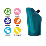 Vapur - Vapur - Incognito Flask - 300ml - Teal - Brands - Satorial