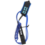 XM | Surf More - Hybrid SUP Coil Leash ~ Regular