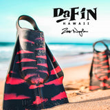 DaFiN - DaFin Swim Fins - Zak Noyle x NSLA - Black/Red - Brands - Satorial
