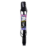 Catch Surf - Beater 5' Pro Comp Leash - Black
