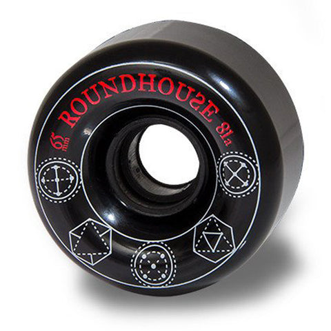 Carver - Carver Skateboards - Roundhouse Wheels - 65mm Smoke Radials (81A) - Brands - Satorial