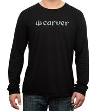 Carver - 'Logo' Long Sleeve T-Shirt