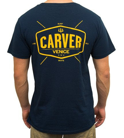 Carver - Carver Skateboards - 'Utility' Short Sleeve T-Shirt - Brands - Satorial