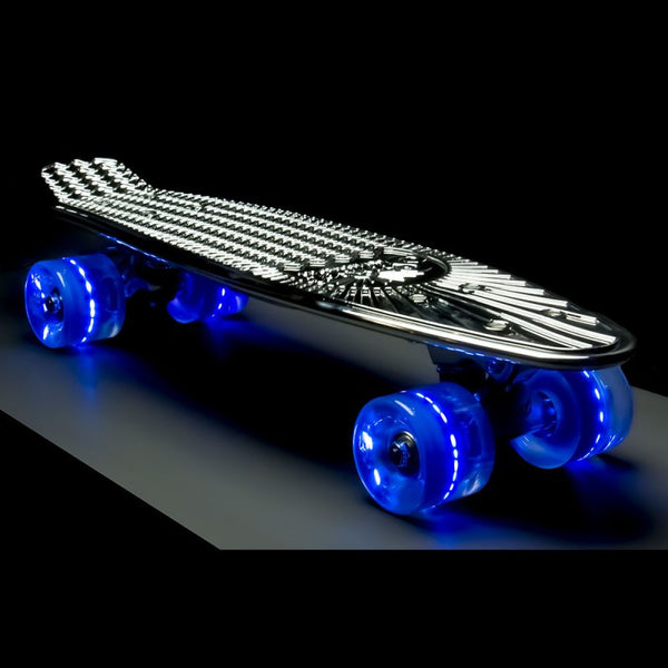 "Sunset Skateboards - 22"" Chrome - Silver"
