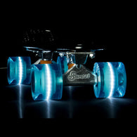 Sunset Skateboards - Flare LED Wheels - 59mm Cruiser ~ Aqua
