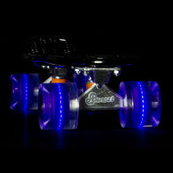 Sunset Skateboards - Flare LED Wheels - 59mm Cruiser ~ Blacklight