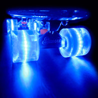 Sunset Skateboards - Flare LED Wheels - 59mm Cruiser ~ Blue