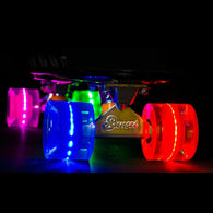 Sunset Skateboards - Flare LED Wheels - 59mm Cruiser ~ Hippy