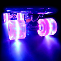 Sunset Skateboards - Flare LED Wheels - 59mm Cruiser ~ Purple