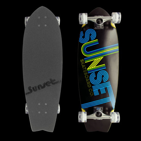 Sunset Skateboards - Wood Complete - Studio 54