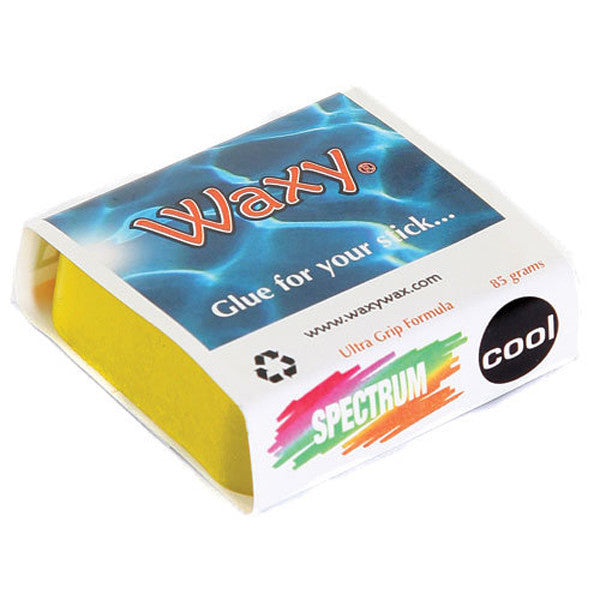 Waxy Wax - Waxy Wax - Coloured Surf Wax - Yellow - Brands - Satorial