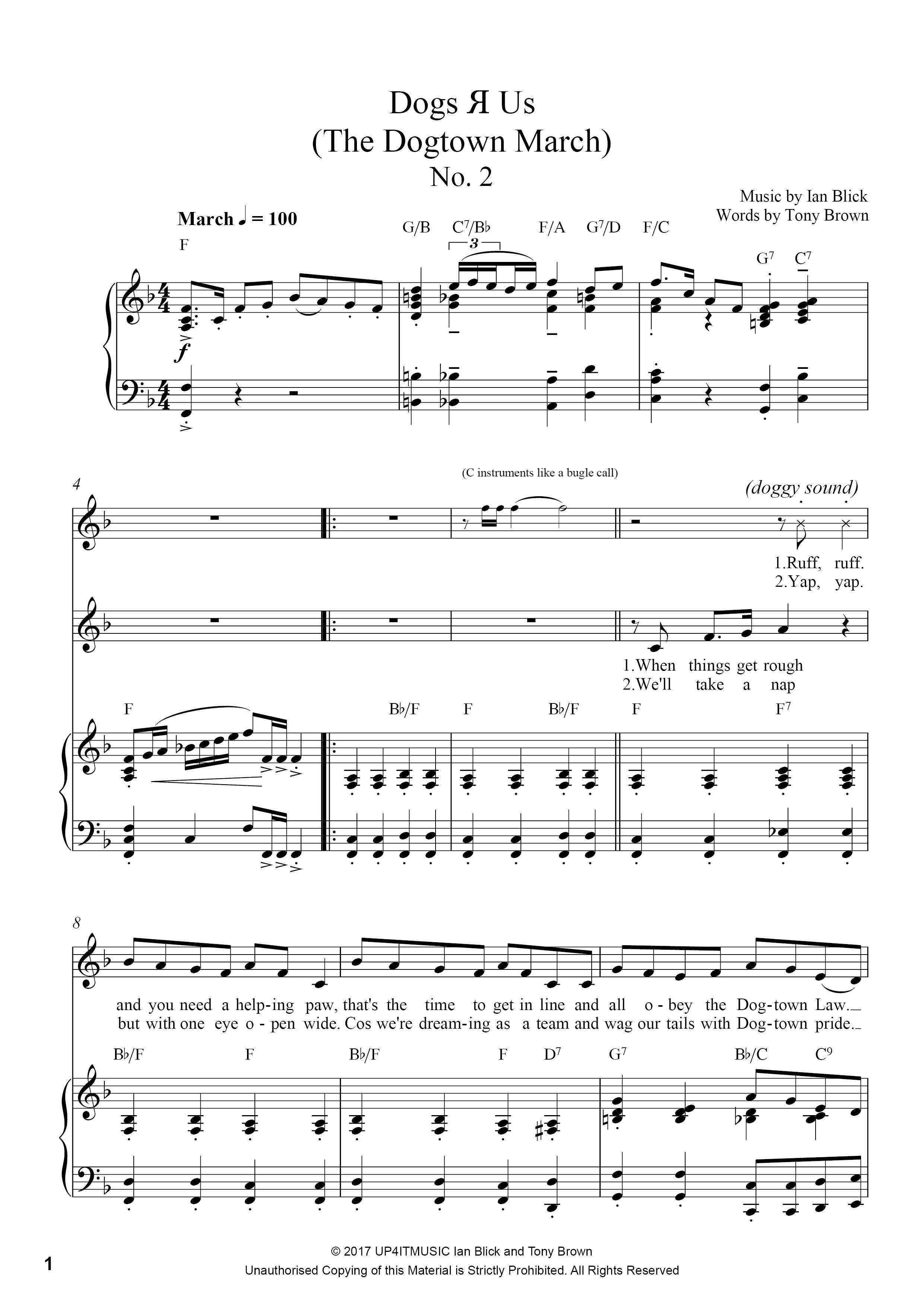 Reach Out and Touch - Piano/Vocal Score Sheet Music/MP3 FREE