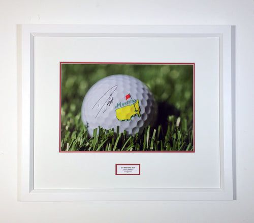 Golf - US Masters Golf framed image