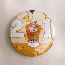 Birthday Bandit Badge