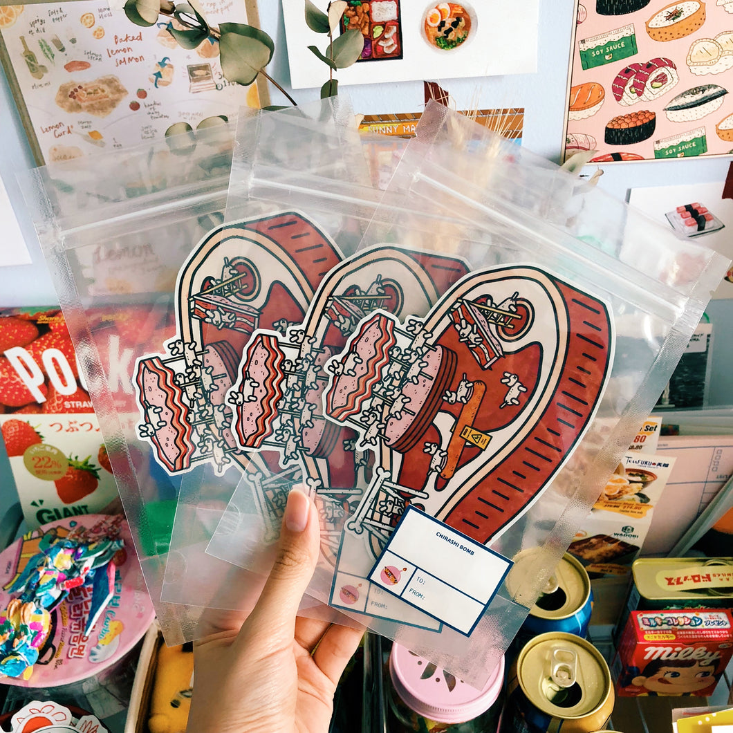 [Limited Edition] Meat Playground Sticker