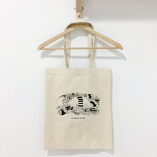 Greedy Cat Totebag