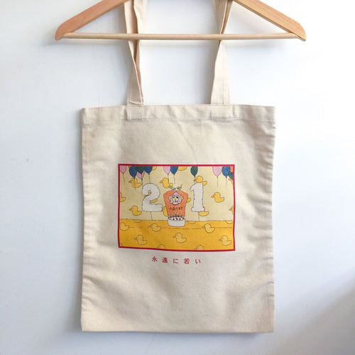 Birthday Bandit Totebag