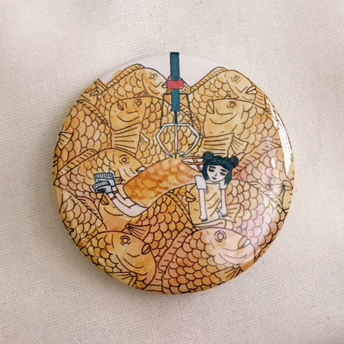 Carp Bread Catcher Badge