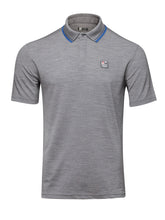 Z Zegna TECHMERINO™ Concealed Button Polo (Grey) - Union 22
