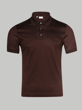 Brioni Embrioded Polo (Mahogany) - Union 22
