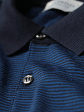 Bunson Striped Polo (Midnight)