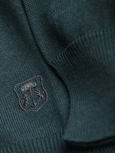 Corneliani Quater Zip Knit (Emerald Green)