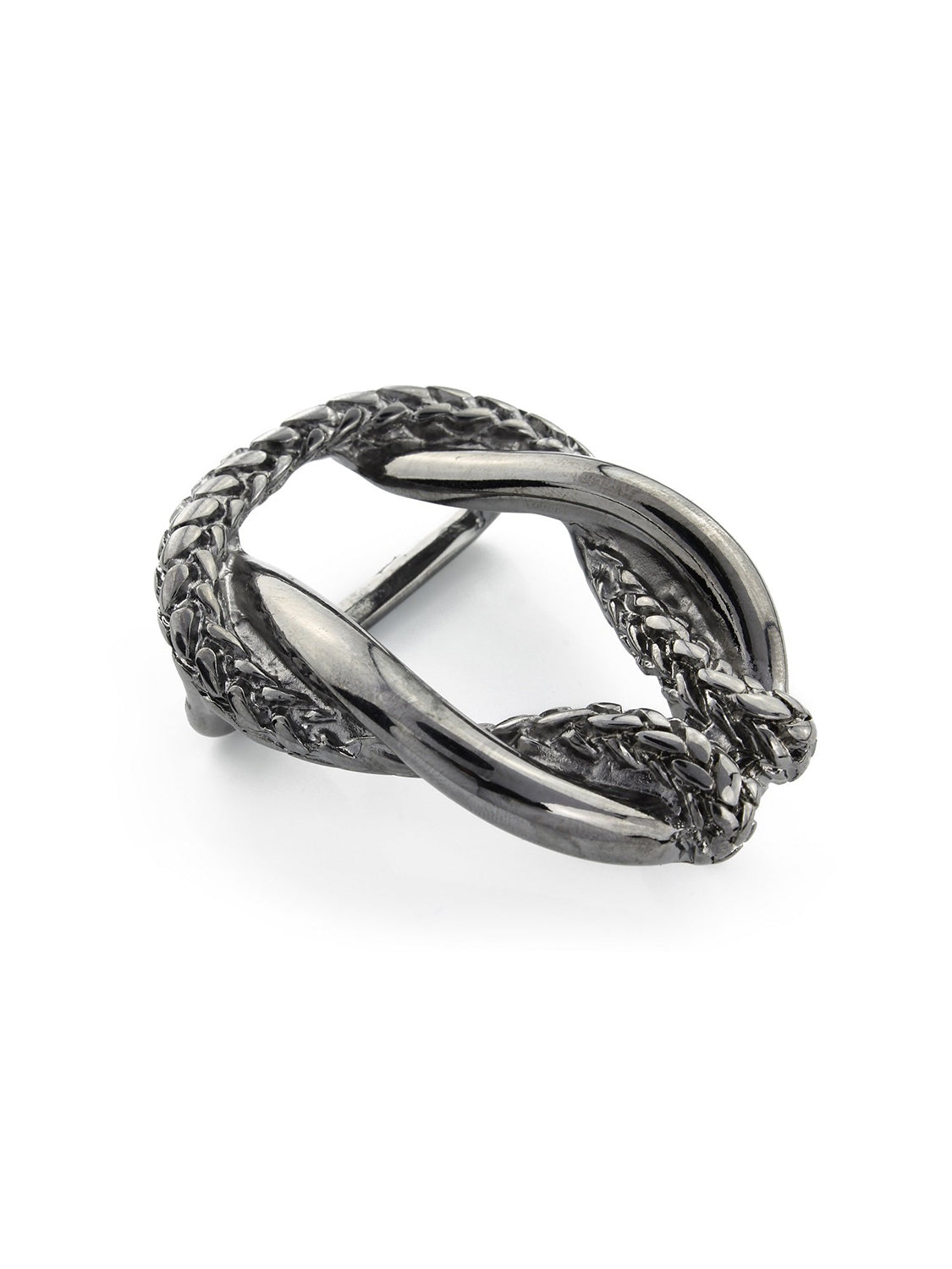 Elliot Rhodes Gunmetal Rope Buckle (Gun metal) - Union 22
