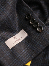Canali Kei Check Jacket (Navy & Pale Blue) - Union 22