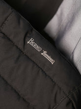 Herno Laminar Long Quilted Coat (Black) - Union 22