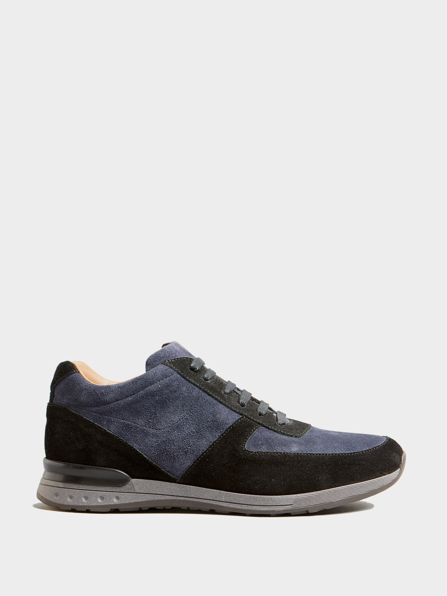 Corneliani Dress Trainer Suede (Blue and Black)