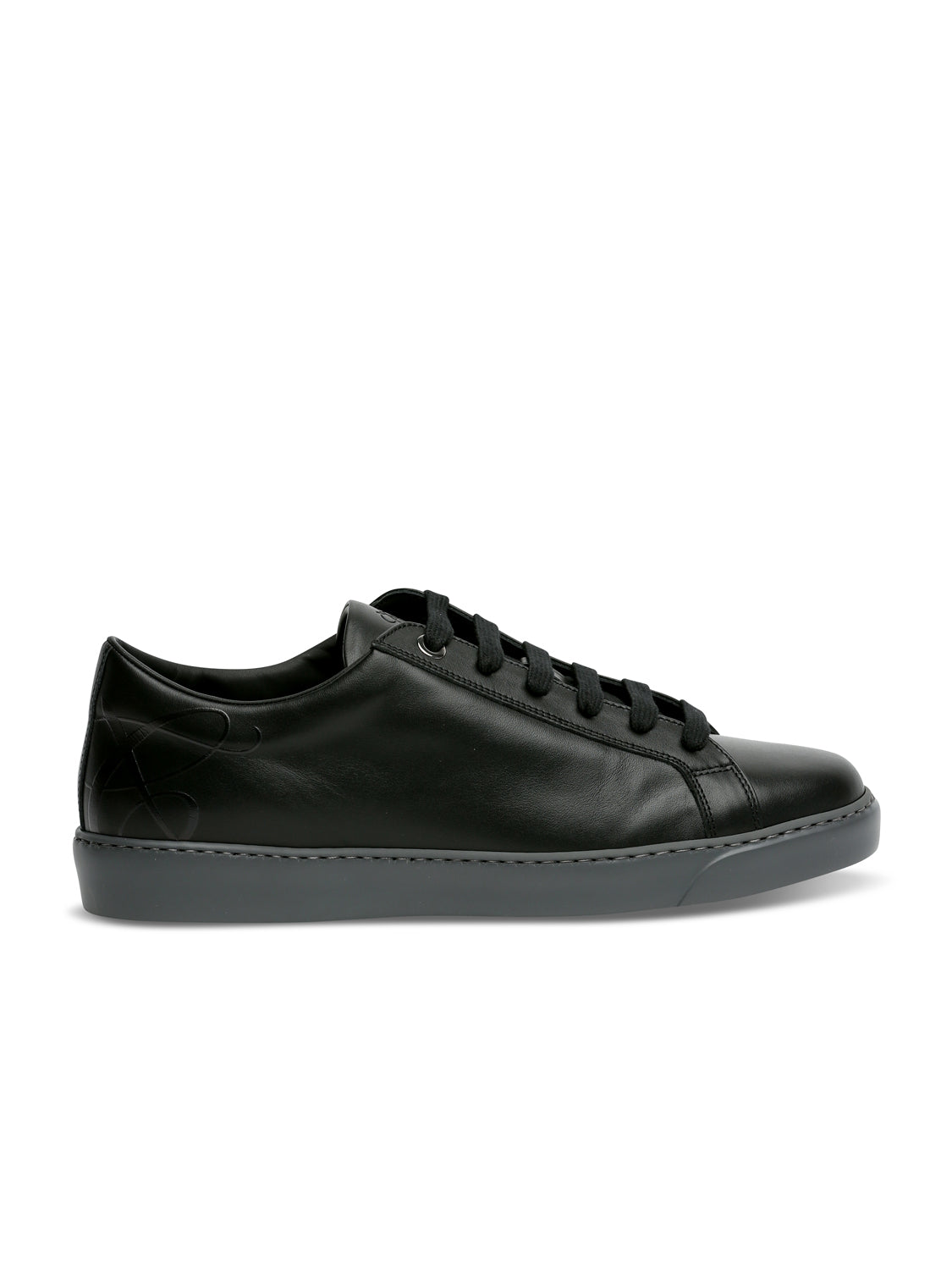 Canali Low Top Trainer (Black)