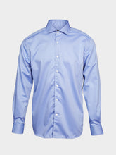 Corneliani Cut Away Collar (Blue)