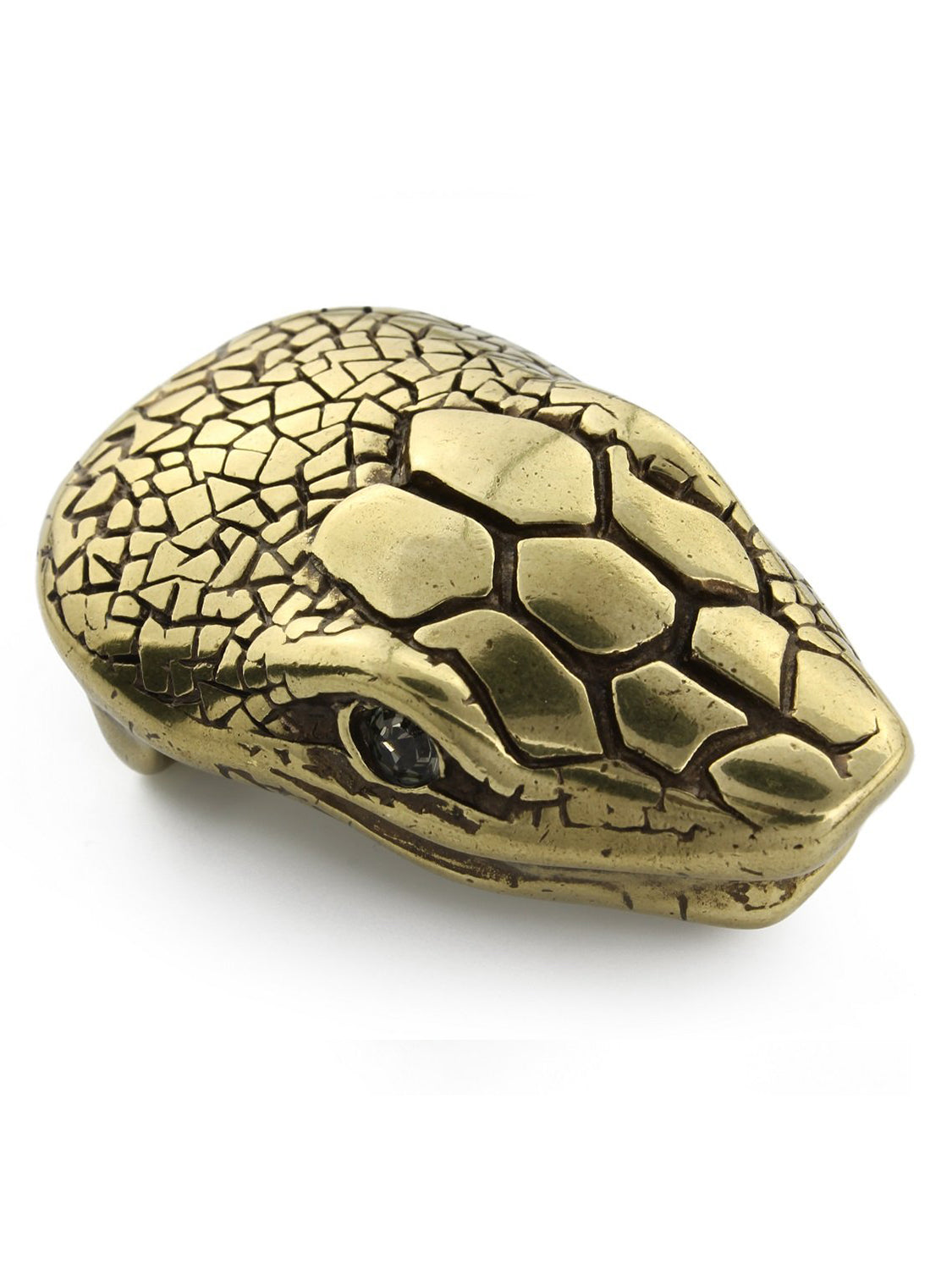 Elliot Rhodes Gold Snake Head Buckle (Gold) - Union 22