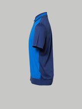 Bertolo Antibes Polo (Navy and Mediteranean Blue Contrast)