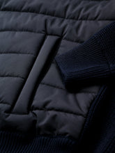 Zattura Technical Rain Wool Hooded Jacket (Navy) - Union 22