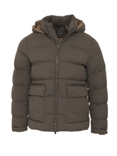 Corneliani Quilted Eco 'Circle' Coat (Green) - Union 22