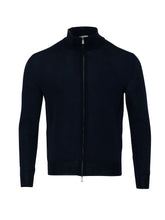 Canali Full Zip Cardigan (Navy) - Union 22