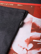 Z Zegna Face Print T-Shirt (Dark Grey) - Union 22