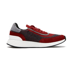 Z Zegna Techmerino™ Piuma Suede Sneakers (Red) - Union 22