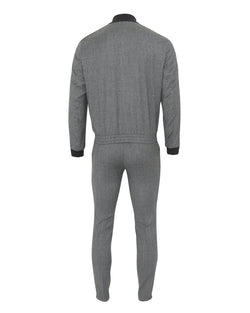 Z Zegna Techmerino™ Wash & Go Tracksuit (Grey Melange) - Union 22