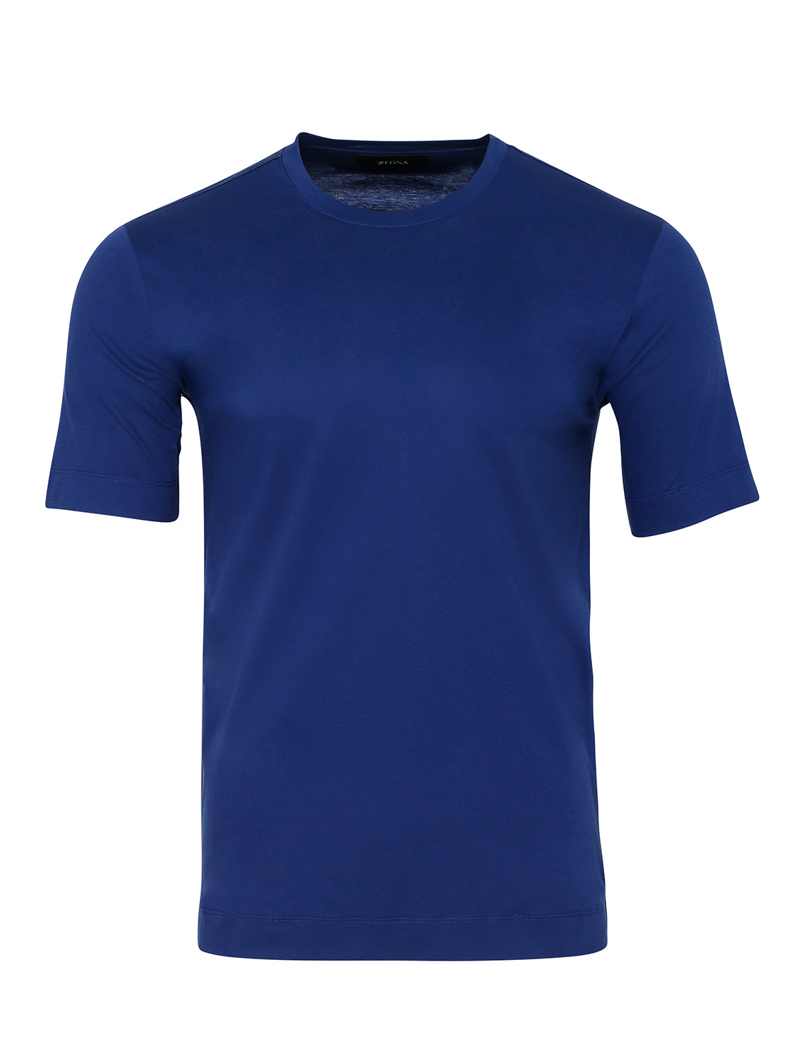 Z Zegna Mercerised T-Shirt (Blue) - Union 22