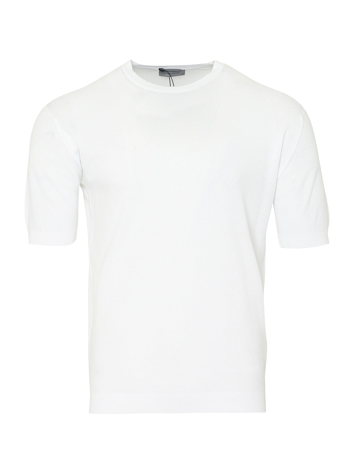 John Smedley Park Short Sleeve T-Shirt (White) - Union 22