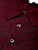 Brioni Long Sleeve 'B' Link Wool Polo (Bordeaux) - Union 22