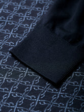 Brioni Long Sleeve 'B' Link Wool Polo (Navy) - Union 22